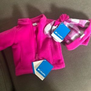 3-6 Month Columbia Jacket & Accessories